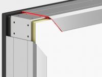 Комплект теплоизоляционных панелей в алюминиевом каркасе