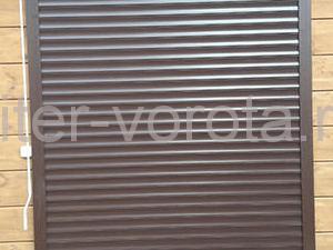 Ворота роллетные DoorHan RH77M в Репино, фото 1