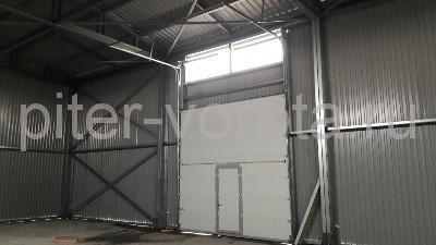Промышленные подъёмно-секционные ворота в Свердлово