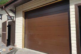Ворота гаражные подъёмно-секционные Alutech Classic в Семиозёрье фото 4