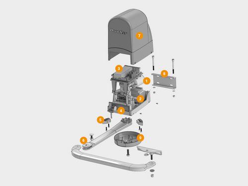 Фото конструкция привода Doorhan ARM-230