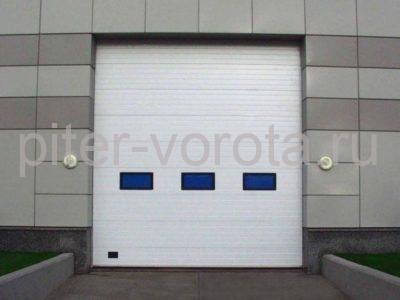 Промышленные секционные ворота DoorHan ISD01 3000 х 2000