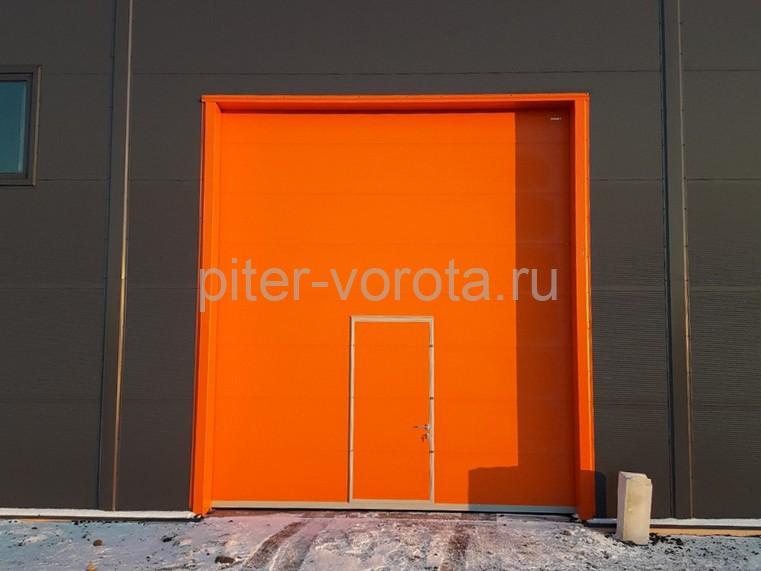 Промышленные подъёмно-секционные ворота DoorHan ISD01 в г.Коммунаре