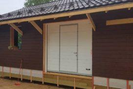 Гаражные подъёмно-секционные ворота Doorhan RSD02 в Лебяжье, фото 2