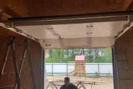 Гаражные подъёмно-секционные ворота Doorhan RSD02 в Лебяжье, фото 3