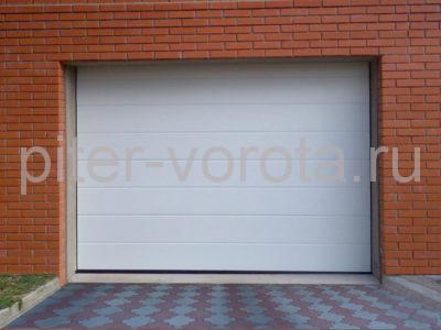 Секционные ворота Hormann 2750 × 2250 мм, ручное управление