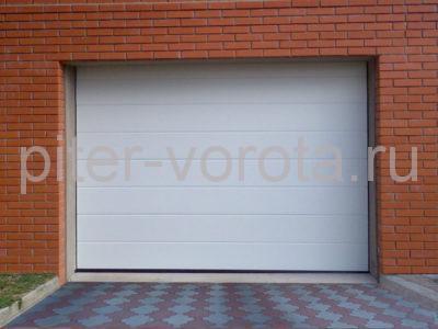 Секционные ворота Hormann 5000 × 2250 мм, автоматический привод Prolift