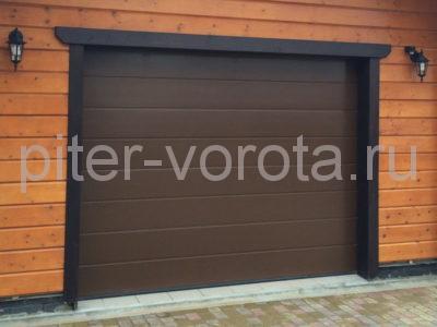 Секционные ворота Hormann 2750 × 2125 мм, ручное управление