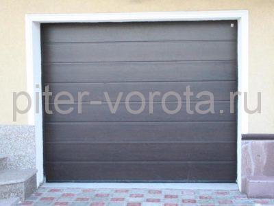 Секционные ворота Hormann 3000 × 2250 мм, автоматический привод ProMatic