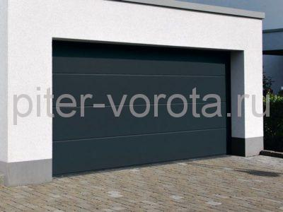 Секционные ворота Hormann 2500 × 2250 мм, ручное управление