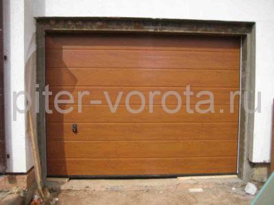 Секционные ворота Hormann 5000 × 2250 мм, автоматический привод ProMatic