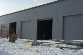 Промышленные подъёмно-секционные ворота DoorHan ISD01 в Шушарах, фото 3