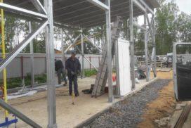 Промышленные подъёмно-секционные ворота DoorHan ISD01 в Юкки, фото 3