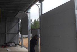 Промышленные подъёмно-секционные ворота DoorHan ISD01 в Юкки, фото 4