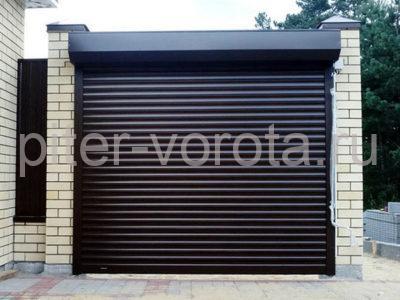 Роллетные ворота DoorHan 2750x4000 мм