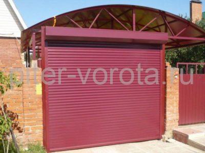 Роллетные ворота DoorHan 2000x3000 мм