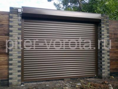 Роллетные ворота DoorHan 2000x3250 мм
