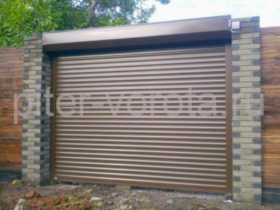 Гаражные роллетные ворота DoorHan RH77M 2000x2800