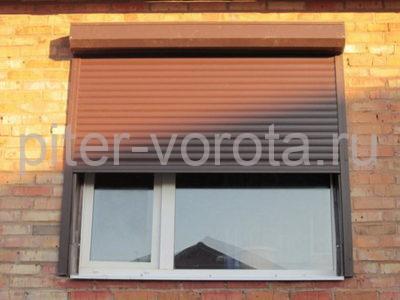 Рольставни на окна RH58N, 1500 x 2000 мм