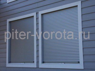 Рольставни на окна RH58N, 900 x 2100 мм
