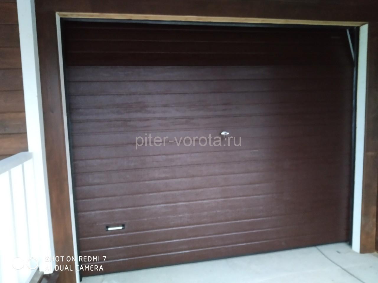Гаражные подъёмно-секционные ворота DoorHan RSD01 в Петровских Садах