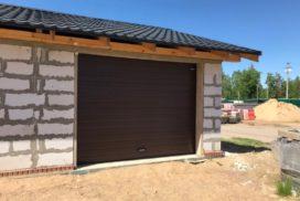 Гаражные подъёмно-секционные ворота DoorHan RSD01 в Малой Малиновке, фото 3