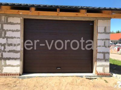 Гаражные подъёмно-секционные ворота DoorHan RSD01 в Малой Малиновке, фото 1