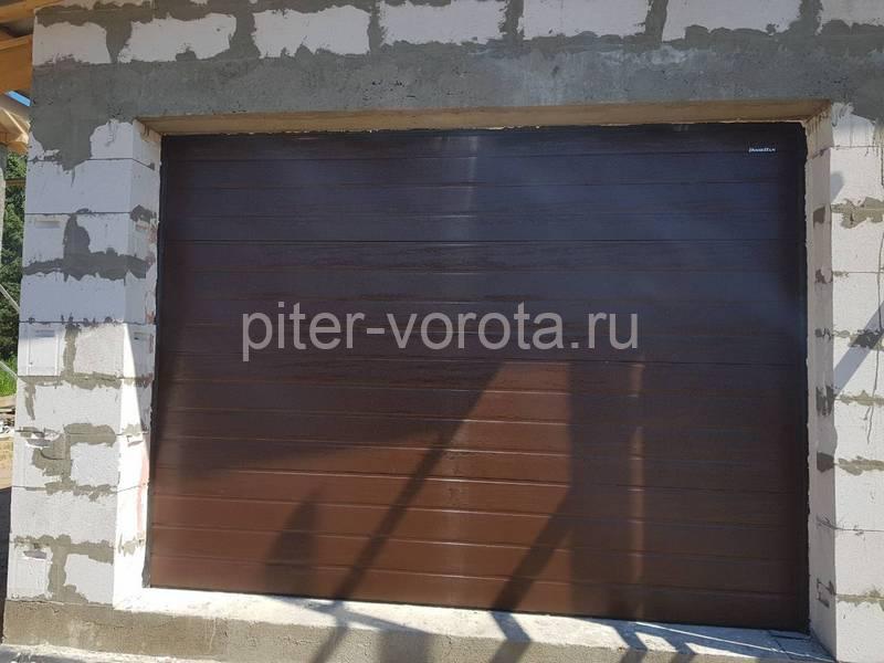 Гаражные подъёмно-секционные ворота Doorhan RSD01 в Новой пробе
