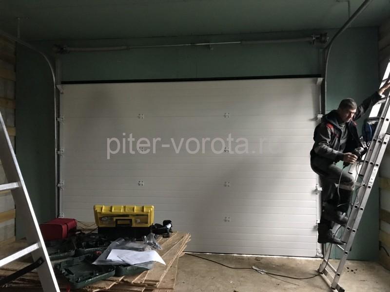 Гаражные подъёмно-секционные ворота Doorhan RSD02 в пгт Морозова