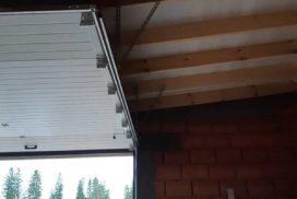 Гаражные подъёмно-секционные ворота Doorhan RSD02 в Приозёрске, фото 5