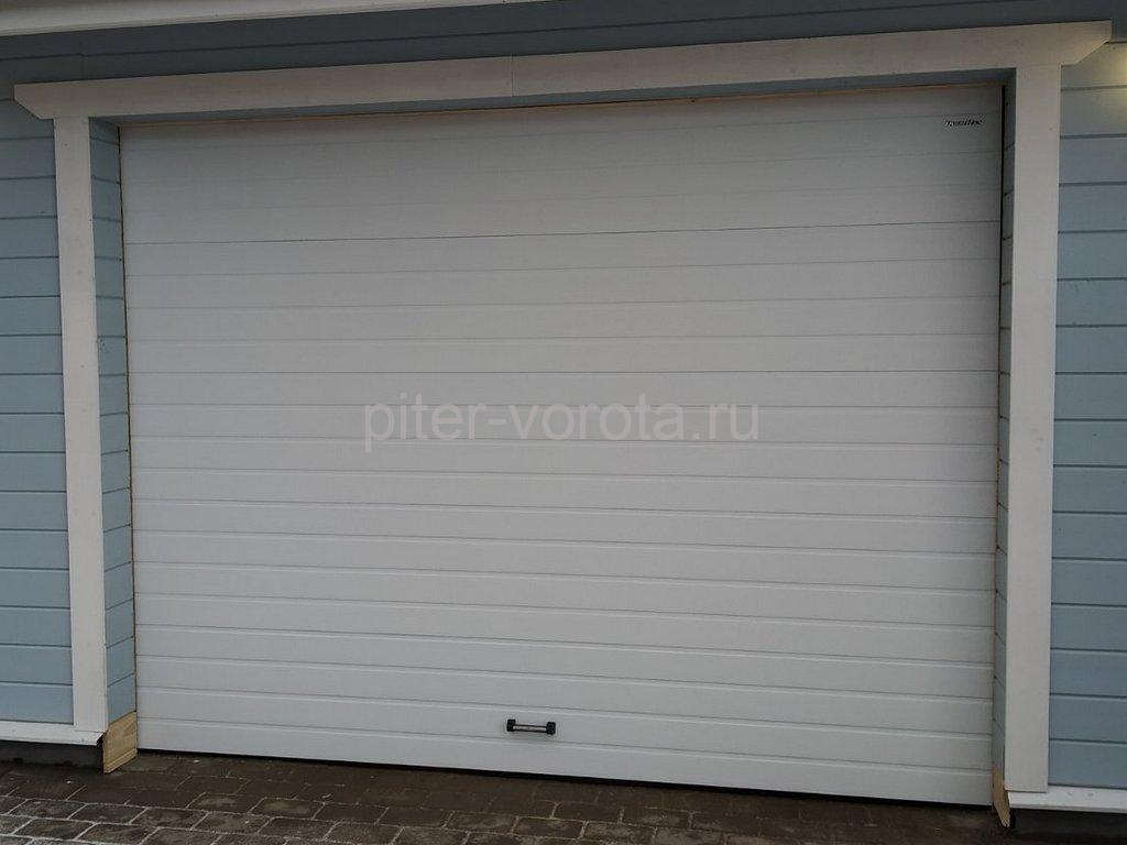 Ворота гаражные подъёмно-секционные DoorHan RSD02 в Сиверском