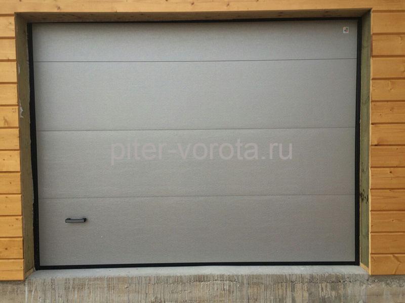 Гаражные подъёмно-секционные ворота в СНТ Ольшаники