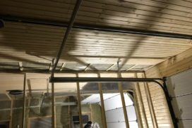 Гаражные подъёмно-секционные ворота Alutech Classic в Стрельцово, фото 7