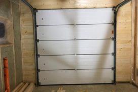 Гаражные подъёмно-секционные ворота Alutech Classic в Стрельцово, фото 16