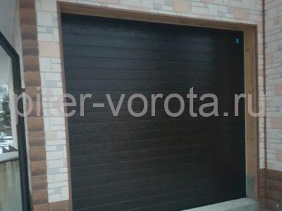 Гаражные подъёмно-секционные ворота Alutech Trend в Лебедевке, фото 1