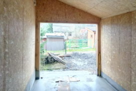 Гаражные подъёмно-секционные ворота Alutech Trend в Лебедевке, фото 5