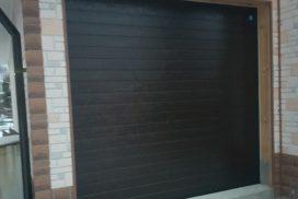 Гаражные подъёмно-секционные ворота Alutech Trend в Лебедевке, фото 2