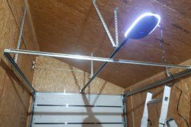 Гаражные подъёмно-секционные ворота Alutech Trend в Лебедевке, фото 3